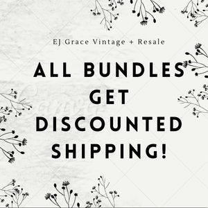 Discount Shipping on Bundles